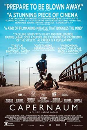 "Capernaum (""Chaos"") (15) (S) (F)"