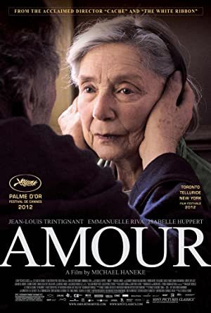 Amour (12A) – Drama Romance. French with subtitles.